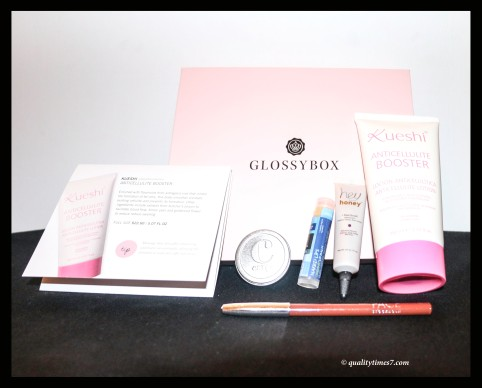 glossy box july all items