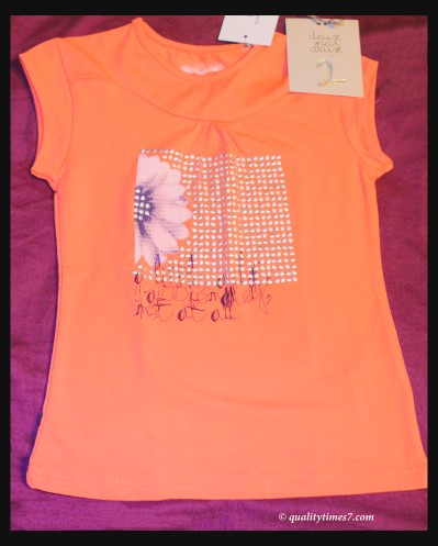 st peach shirt