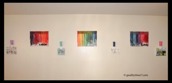 wall art playroom